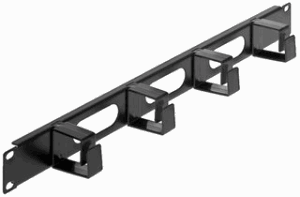 "19"" Cable Management Panel Black, 62 (L) x 483 (W) x 44.5 (H) [mm]"