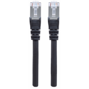 High Performance Network Cable Black, 0.5 m