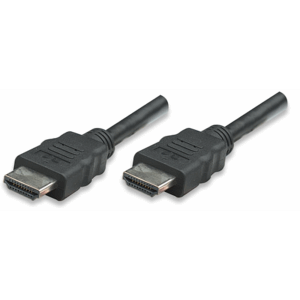 High Speed HDMI Cable With Ethernet Black, 1 (L) x 0.019 (W) x 0.01 (H) [m]