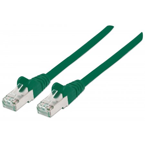 LSOH Network Cable, Cat6, SFTP Green, 7.5 m