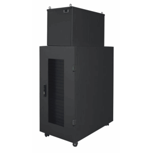 "Micro Data Center, 19"", 36U, 600 x 1000 mm, IP54 Cabinet with 4 kW Cooling Unit, Black"