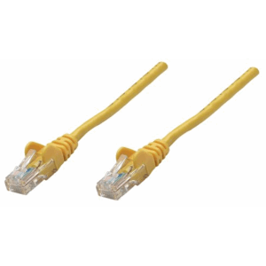 Premium Network Cable, Cat6, UTP Yellow, 7.5 m