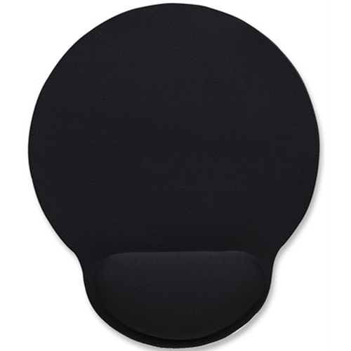 Wrist-Rest Mouse Pad Black