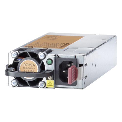 HPE Renew a Hewlett Packard Enterprise company J9739A - Power supply - Black,Silver - 165 W - 100 - 240 V - 86.4 mm - 238 mm (J9739A)