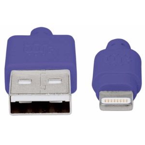 iLynk USB Cable with Lightning Connector purple
