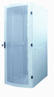 "19"" Server Cabinet, 42U,  IP20-rated housing, Flatpack, Gray"