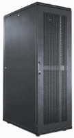 "19"" Server Cabinet, 26U, IP20-rated housing, Flatpack, Black"