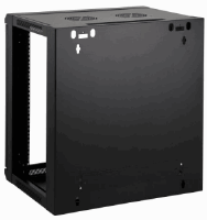 "19"" Wallmount Cabinet Black RAL9005, 770 x 600 x 450 (mm)"