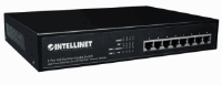 8-Port Gigabit Ethernet PoE+ Switch Black, 180 (L) x 280 (W) x 44 (H) [mm]