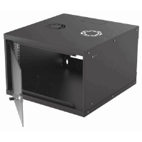 "19"" Basic Wallmount Cabinet Black, 560 (L) x 540 (W) x 353 (H) [mm]"