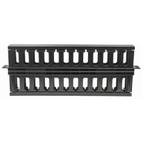 "19"" Cable Management Panel Black, 175 (L) x 485 (W) x 49 (H) [mm]"