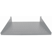 "19"" Cantilever Shelf, 2U, 2-Point Front Mount, 400 mm Depth, Vented, Gray"