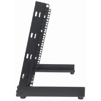 "19"" Desktop Open Frame Rack Black, 294.32 (L) x 504 (W) x 415.85 (H) [mm]"
