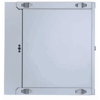 "19"" Double Section Wallmount Cabinet  Gray, 450 (D) x 540 (W) x 327 (H) [mm]"