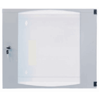 "19"" Double Section Wallmount Cabinet  Gray, 600 (D) x 540 (W) x 460 (H) [mm]"