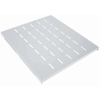 "19"" Fixed Shelf, 1U, 525 mm Depth, Gray"