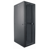 "19"" Network Cabinet, 26U, IP20-rated housing, Assembled, Black"