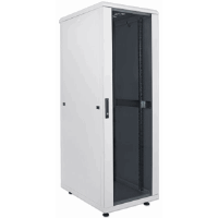 "19"" Network Cabinet, 32U, IP20-rated housing, Assembled, Gray"