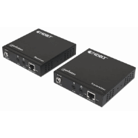 4K HDMI HDBaseT over Ethernet Extender Kit, Extends Distances of 4K@30Hz up to 70 m (230 ft.) and 1080p up to 100 m (330 ft.) Using Single Ethernet Ca