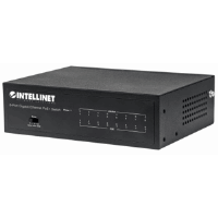 8-Port Gigabit Ethernet PoE+ Switch Black, 118 (L) x 155 (W) x 46 (H) [mm]