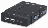 4-Port Compact KVM Switch