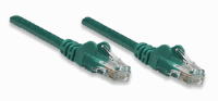 Network Cable, Cat5e, UTP Green, 0,45 m