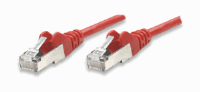 Network Cable, Cat6, UTP Red, 10.0 m