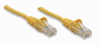 Network Cable, Cat5e, UTP Yellow, 10.0 m