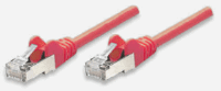 Network Cable, Cat5e, UTP Red, 20.0 m