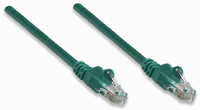 Network Cable, Cat5e, UTP Green, 10.0 m