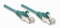 Network Cable, Cat6, UTP Green, 1,0 m