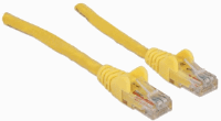 Network Cable, Cat6, UTP Yellow, 0.5 m