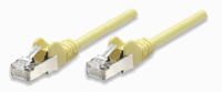 Network Cable, Cat6, UTP Yellow, 1,0 m