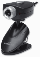Webcam 500 Black and Silver