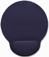 Wrist-Rest Mouse Pad Blue