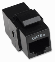 Cat5e Inline Coupler, Keystone Type
