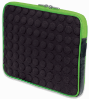 Universal Tablet Bubble Case Black/Green