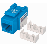 Cat6 Keystone Jack Blue