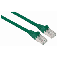 Cat6a Patch Cable SSTP  Green, 7.5 m