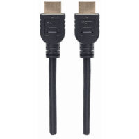 In-wall CL3 High Speed HDMI Cable with Ethernet  Black, 2 m