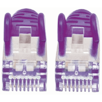 LSOH Network Cable, Cat6, SFTP Purple, 15 m