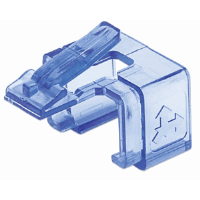 RJ45 Repair Clip Transparent Blue