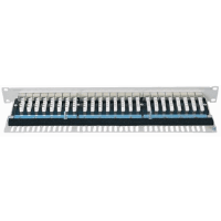 Shielded 24 Port Patch Panel