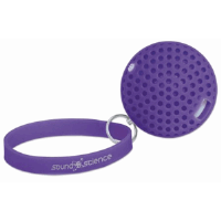 Sound Science Atom Glowing Wireless Speaker Purple