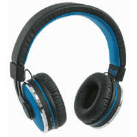 Sound Science Cosmos Comfort-Fit Wireless Headphones Black/Blue