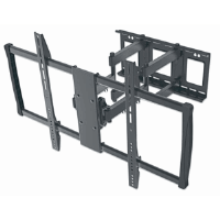 Universal LCD Full-Motion Large-Screen Wall Mount Black, 625 (L) x 926 (W) x 610 (H) [mm]