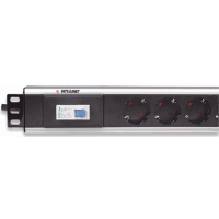 Vertical Rackmount 12-Output Power Distribution Unit (PDU) Black, 640 (L) x 44.4 (W) x 63 (H) [mm]