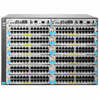 HP Enterprise 5412R zl2 - 444.5 mm - 450.9 mm - 307.9 mm - 17.3 kg - 12 open module slots; Supports a maximum of 96 10GbE ports or 288 autosensing 10/100/1000 ports or...