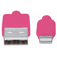 iLynk Lightning Cable  Pink