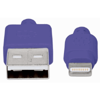 iLynk Lightning Cable  Purple